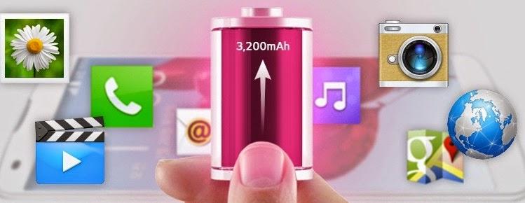 LG G Pro 2 Baterai 3200 mAh