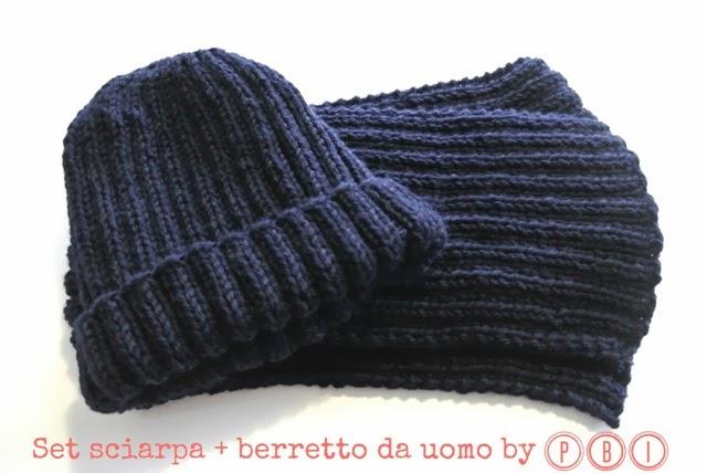 Amato SET SCIARPA E CAPPELLO DA UOMO | Paciuga, Brega e Imbelina CI62