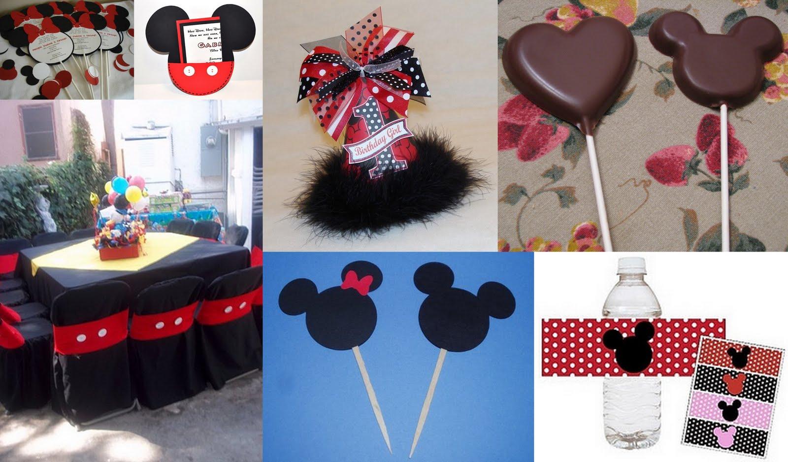 cotillon para fiestas infantiles de mikey mouse y minnie
