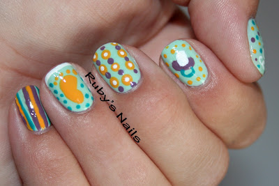 ruby 39 s nails baby shower nails
