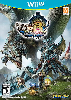 Monster Hunter 3 Ultimate Wii U English Box Art