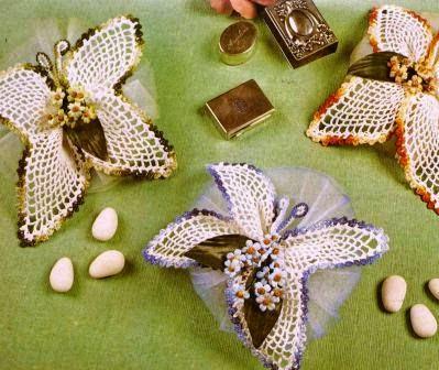 Bomboneras a Crochet o Ganchillo