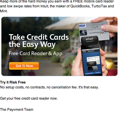 Intuit Card Reader presented by Payvment