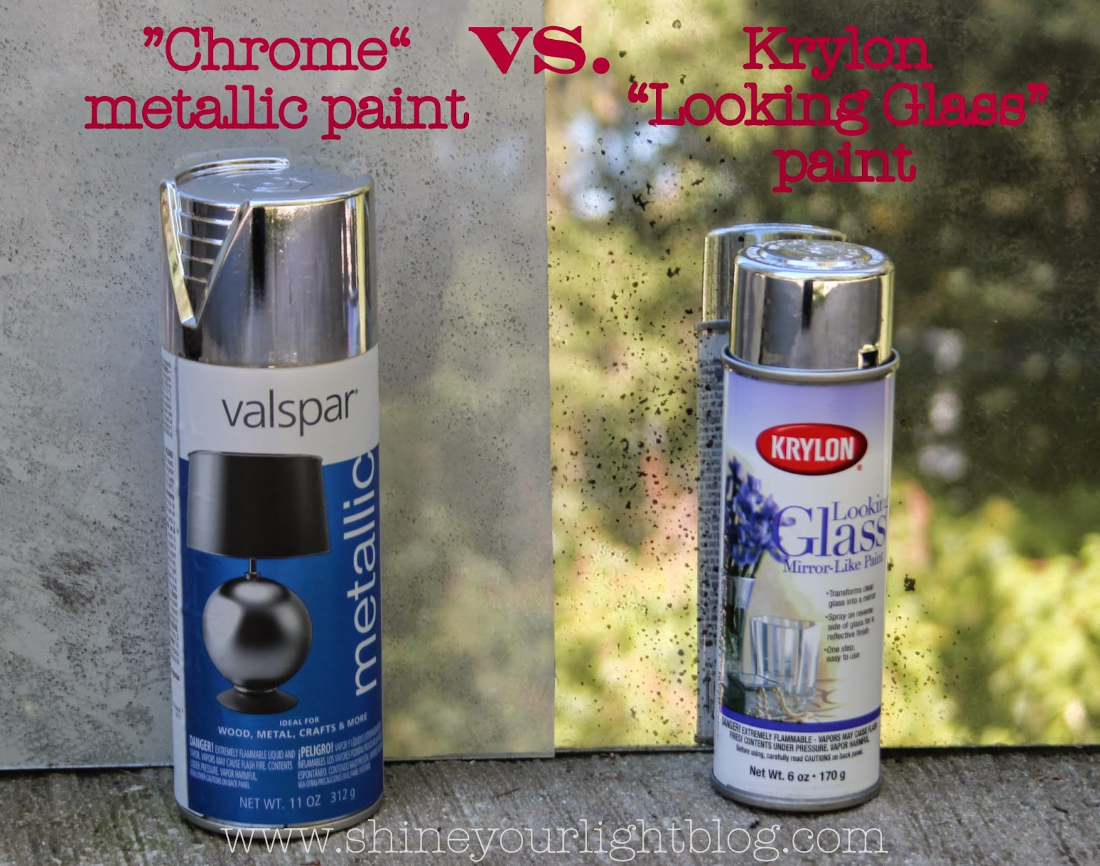Mirror Chrome Spray Paint For Plastic