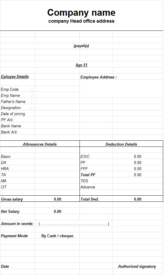 of in xlx download invoice pay samplepayslips sample blank wage slips ...