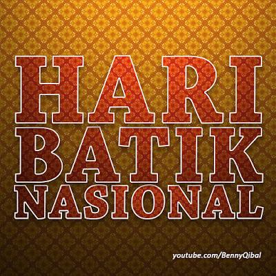 Gambar hari batik nasional walpaper