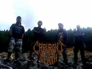 Caruront Death Band Slamming Brutal Death Metal malangbong Garut Foto Logo Wallpaper