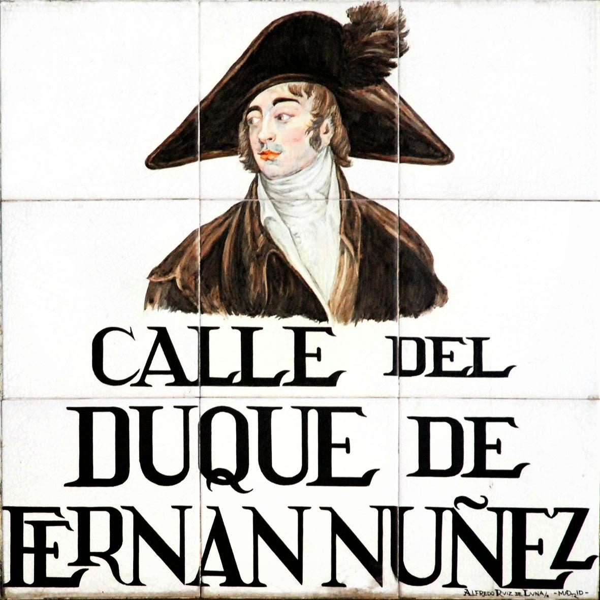 Calle del Duque de Fernán Núñez