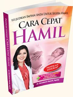 Jual buku cara cepat hamil dari dr Rosdiana Ramli