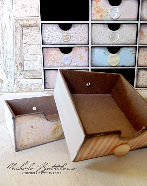 Drawers w/GinasDesigns.net and Graphic45 - Nichola Battilana
