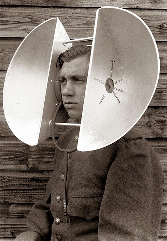 Слуховые трубы. Забытые технологии обнаружения на блоге старика Хоттабыча.