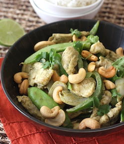 thai green curry chicken stir fry recipe by season with spice shop