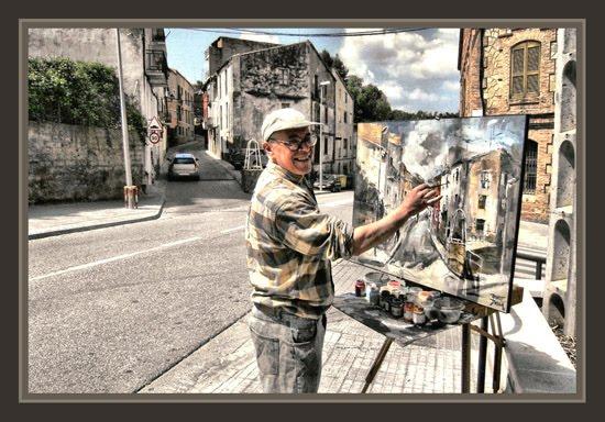 Ernest descals artista pintor artes bages pintura pinturas historia cuadros premios carrer del - Pintores de barcelona ...