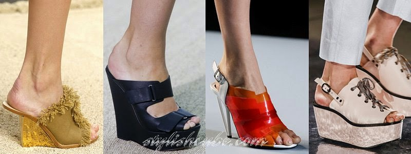 Summer 2014 Women's High Heels Sandals Fashion Trends