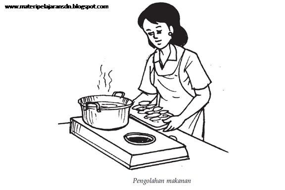 Cara-cara mengolah bahan makanan yang benar