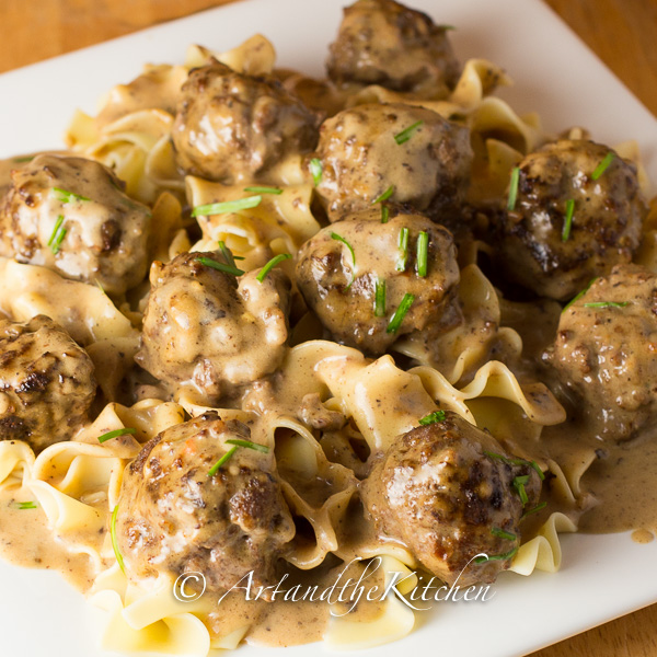 Swedish Meatballs | Art and the Kitchen