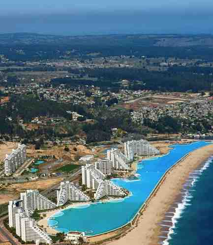 October 2011 best destinations abroad for World s largest swimming pool depth