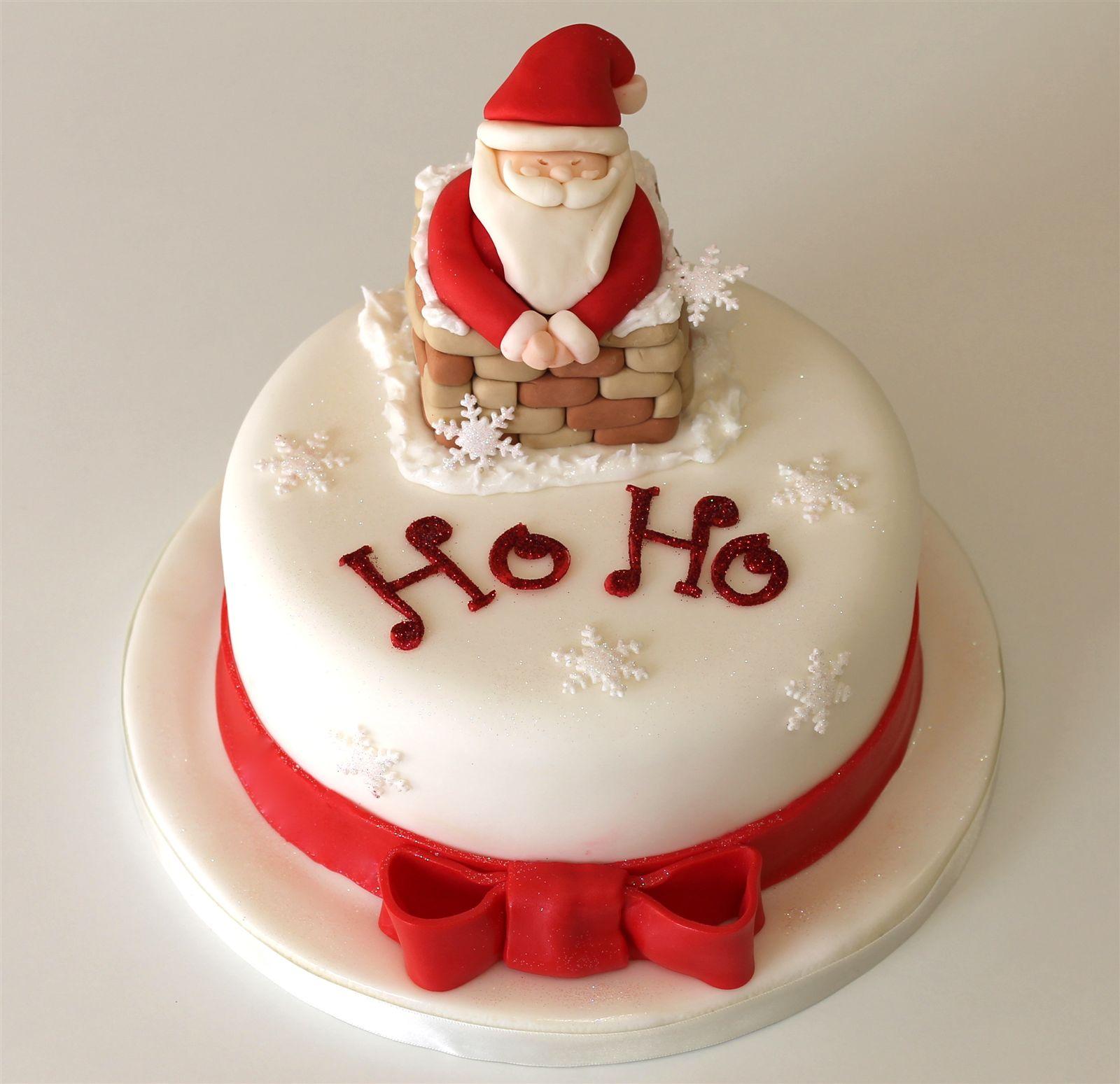Birthday Cakes For You: Santa Claus Cake