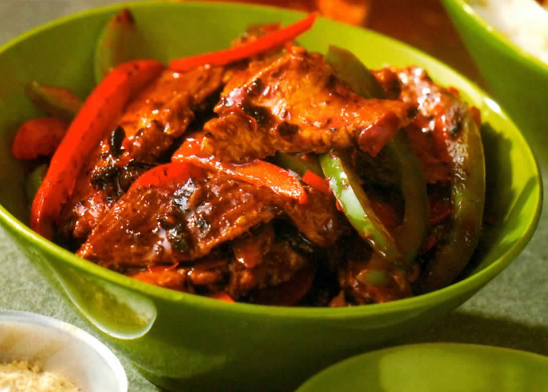 chili spicy red pork and bean chili recipes dishmaps for beans usually ...