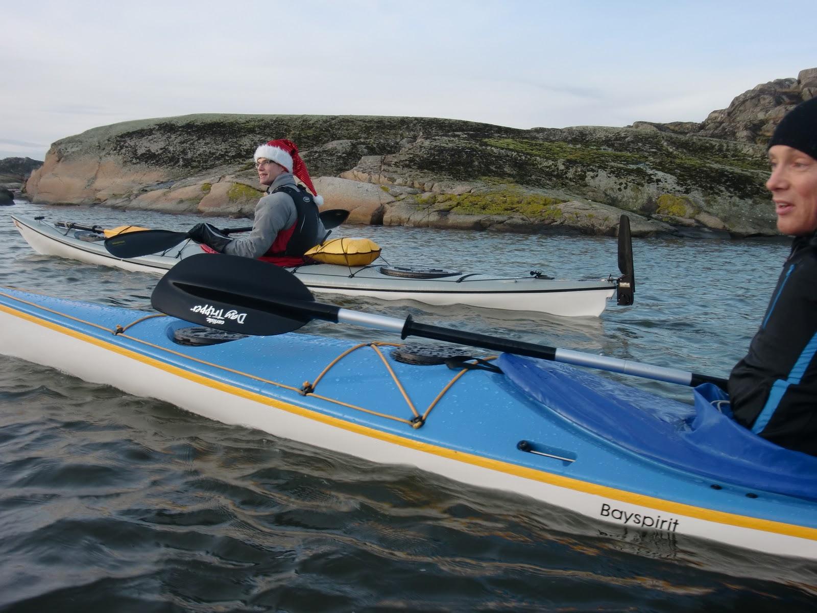 Kayaking santa lucia