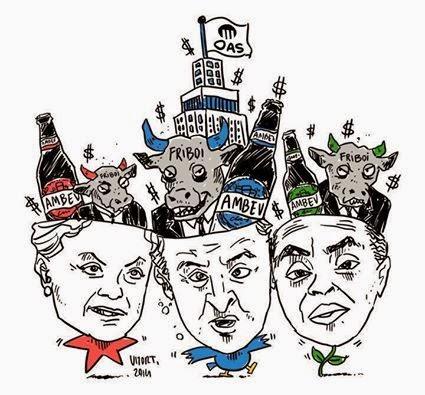 """Brasil: a """"democracia"""" em 2014 e seus patrocinadores"""