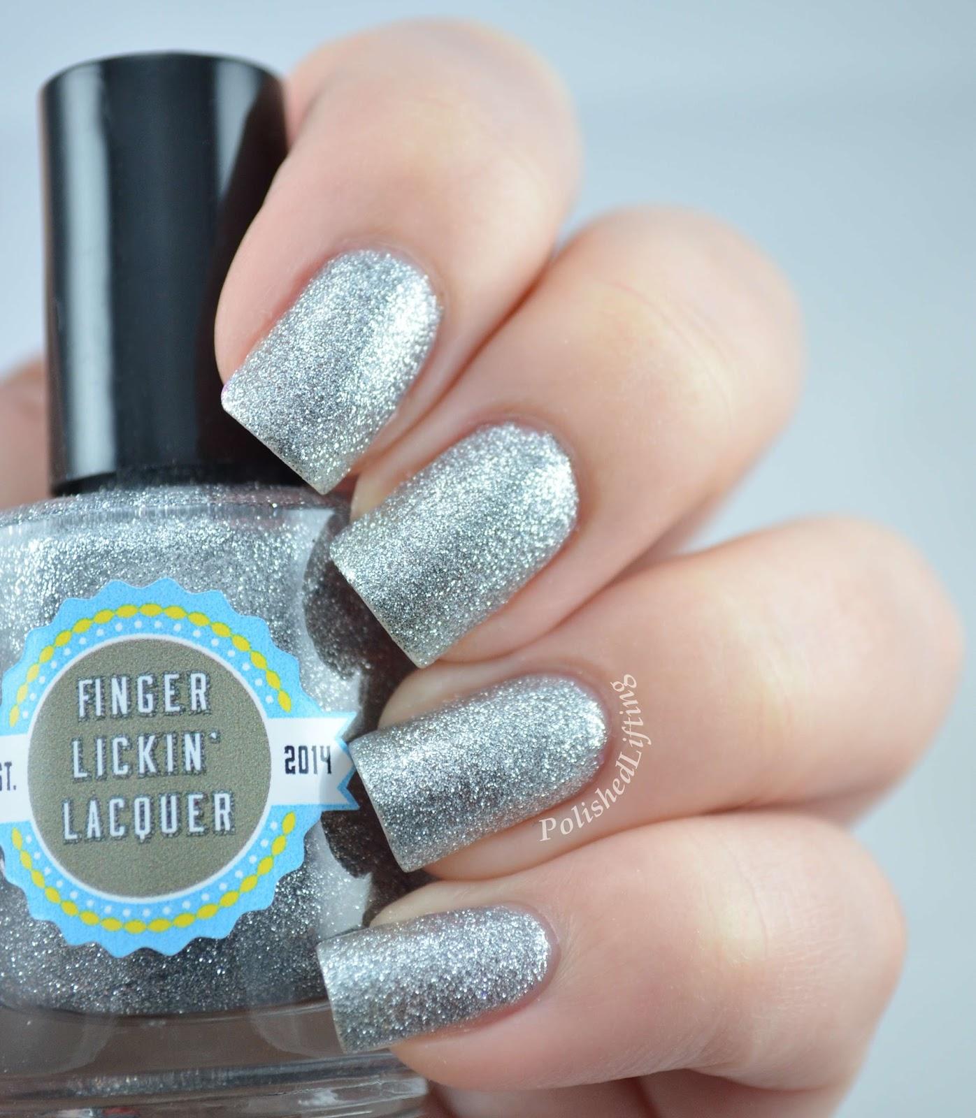 Finger Lickin' Lacquer Silver Bells Holidaze