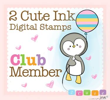 2 Cute Ink Digital Stamps Club Member