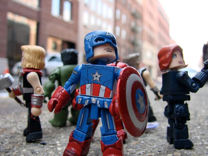 That Figures: NEWS: Marvel's The Avengers Minimates Gallery