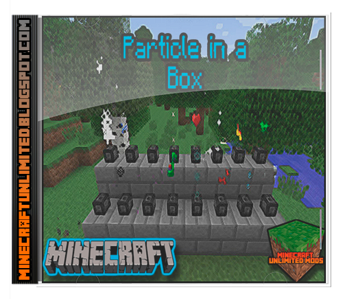 Particle in a Box Mod Minecraft