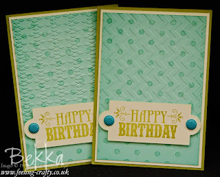 You're Amazing Birthday Cards by Stampin' Up! Demonstrator Bekka Prideaux - check out her Happy Mail Challenge - who would you send a card to?