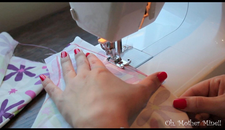 C mo dibujar cortar y coser una pinza de pecho oh - Como coser cortinas paso a paso ...