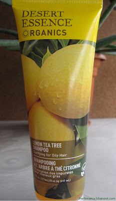 Desert Essence Lemon Tea Tree Shampoo Iherb