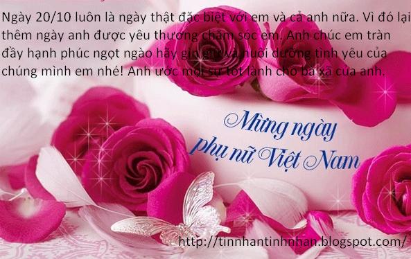 Những lời chúc 20-10 hay nhất tặng chị em phụ nữ Việt Nam