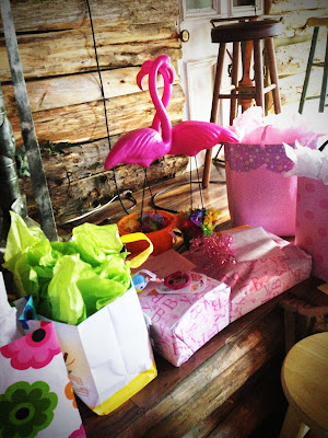Pink Flamingos are the Perfect Decoration for a Luau Party - True Blue Style Event Planning