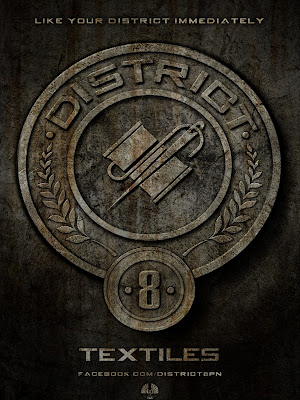 The Hunger Games District 8 Textiles Poster