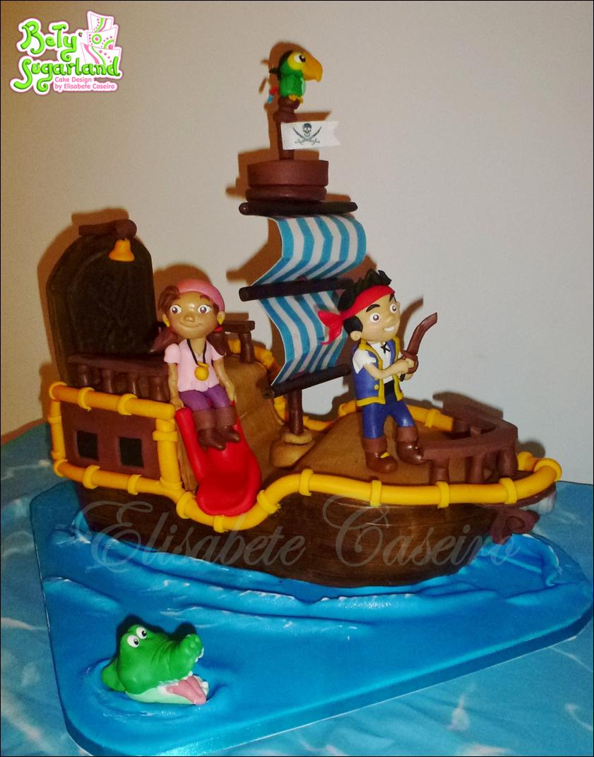 Cake Design Jake E Os Piratas : Bety  Sugarland - Cake Design by Elisabete Caseiro: Mesa ...