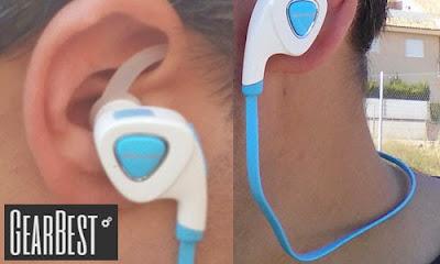 Así me quedan los auriculares Bluedio Q5.