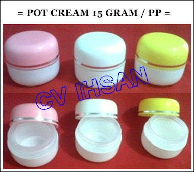 POT CREAM 15 GRAM / PP