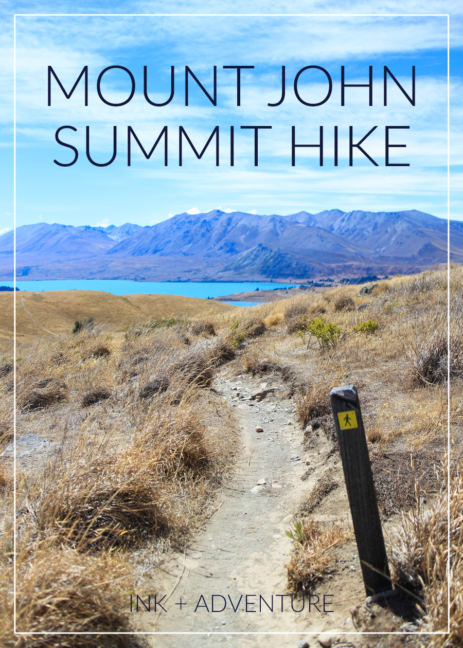 Mount John summit hike, Lake Tekapo NZ