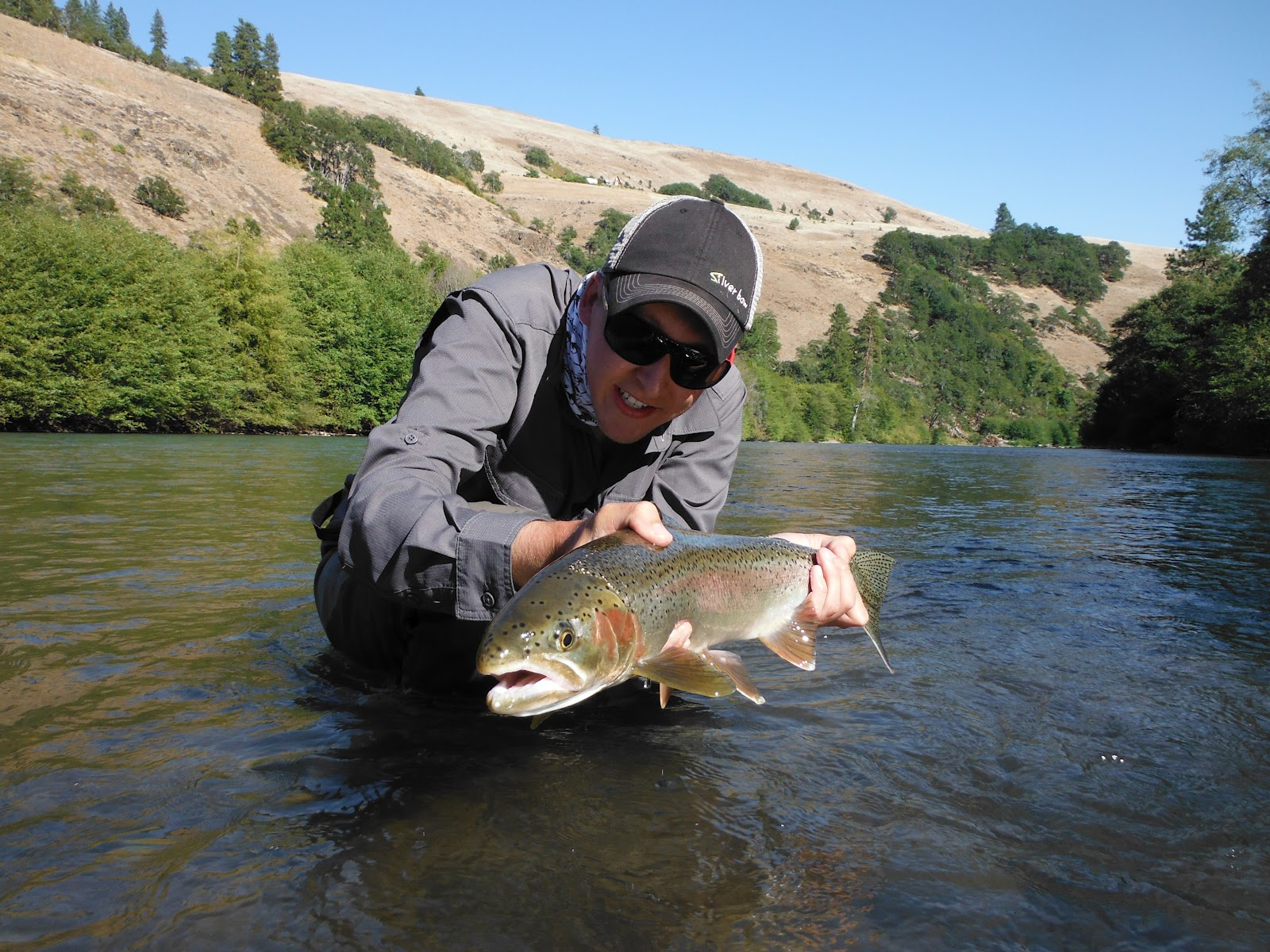 Skinny waders a fly fishing blog first steel uh oh for Fish hatchery ohio