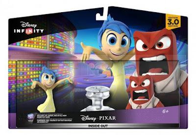 JUGUETES - DISNEY Infinity 3.0  Pack | Inside Out : Del revés| Alegría & Ira | Joy & Anger  Videojuegos - Muñecos - Figuras  Producto Oficial | A partir de 6 años | Comprar en Amazon