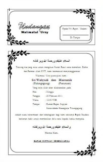 template and design: Free Download Template Undangan With Ms Word