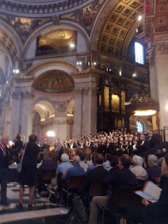 London Symphony Orchestra live at St. Paul's Cathedral