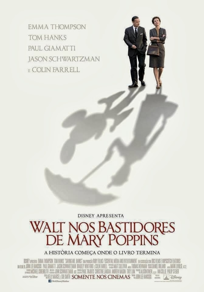 "Poster do filme ""Walt nos Bastidores de Mary Poppins"""