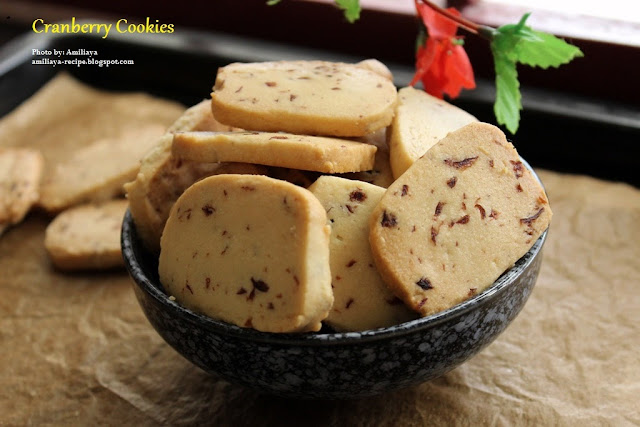 Cranberry Cookies