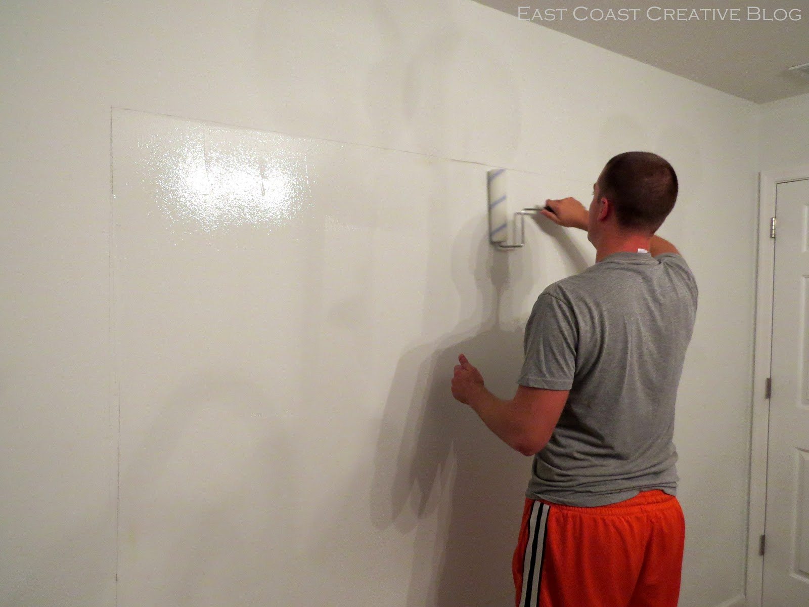 dry erase wall paint sherwin williams how to paint whiteboard wall