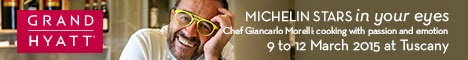 Giancarlo at Tuscany, Grand Hyatt, Muscat
