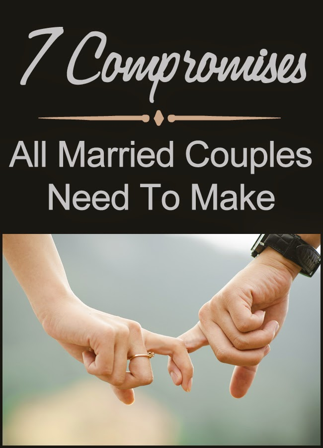7 Compromises All Married Couples Need To Make by Robyn Welling @RobynHTV