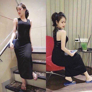 Đầm Maxxi Ren