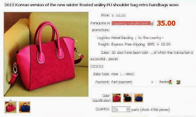 Taobao SEA, Online Shopping, giveaway RMB1,500, alipay, taobao, handbag